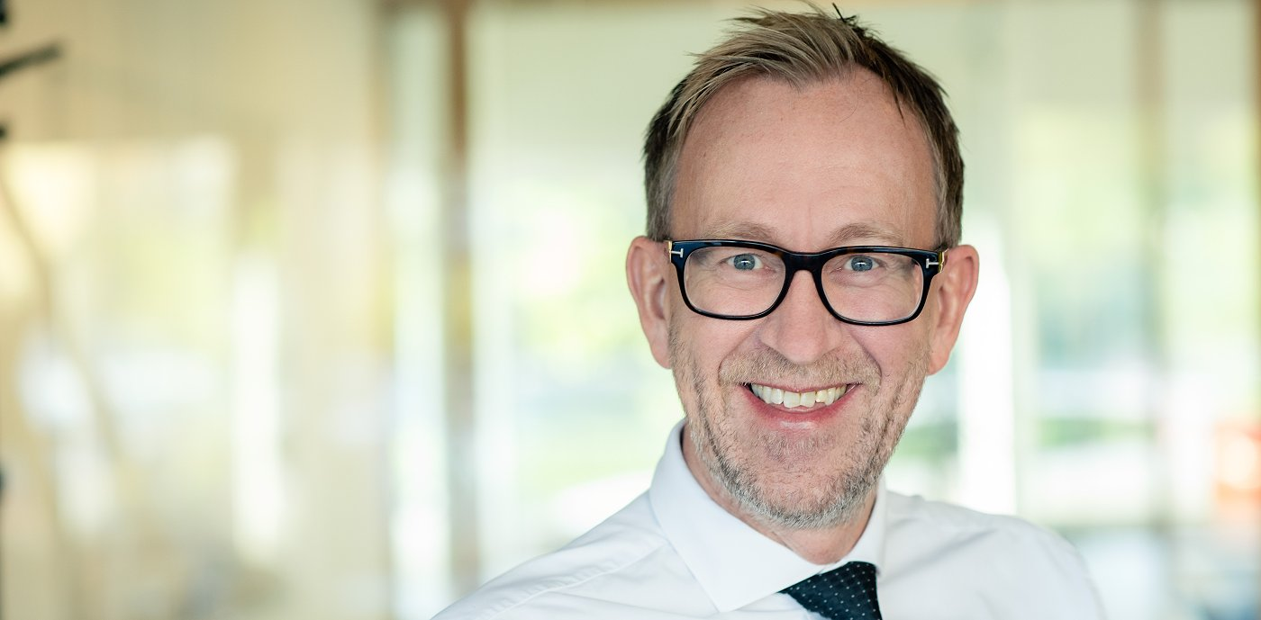 Kim Robert Lisø, koncernchef på GK