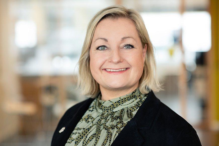 Heidrun R. Marstein, konserndirketør HR i GK Gruppen
