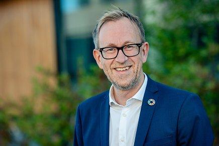 Kim Robert Lisø, konsernsjef i GK Gruppen