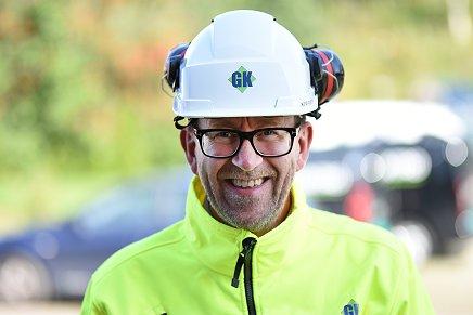 Portrett av Kim Robert Lisø, konsernsjef, GK Gruppen