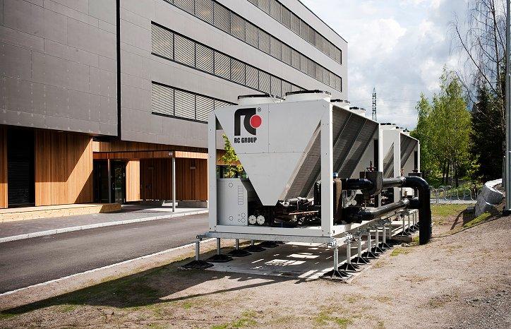 GKs hovedkontor i Oslo holder passivhusstandard og er et utstillingsvindu der de tekniske løsningene er optimalisert for lavt energibruk og minimal miljøbelastning.